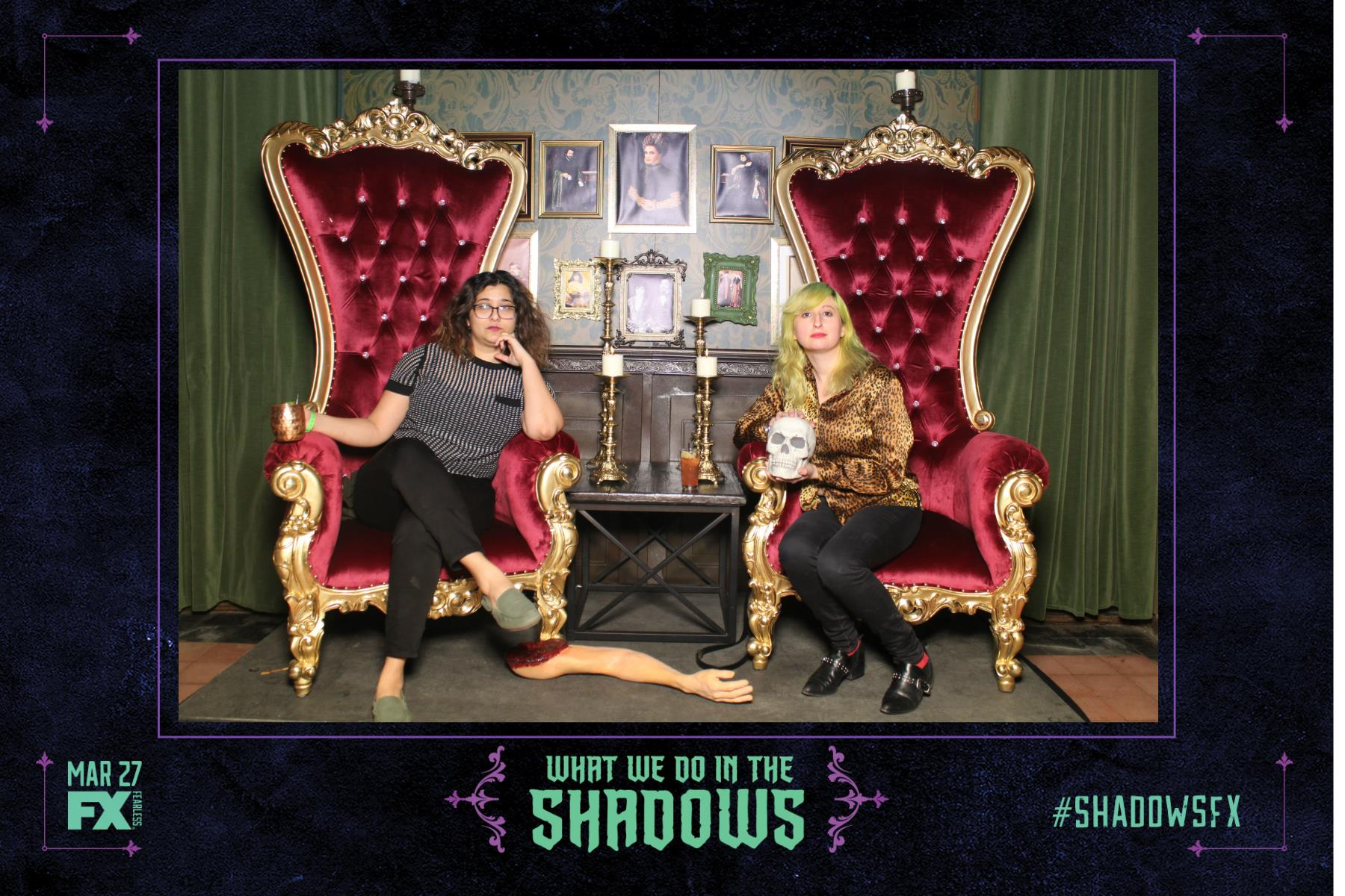 Photo Booth Rental Activation FX Shadows