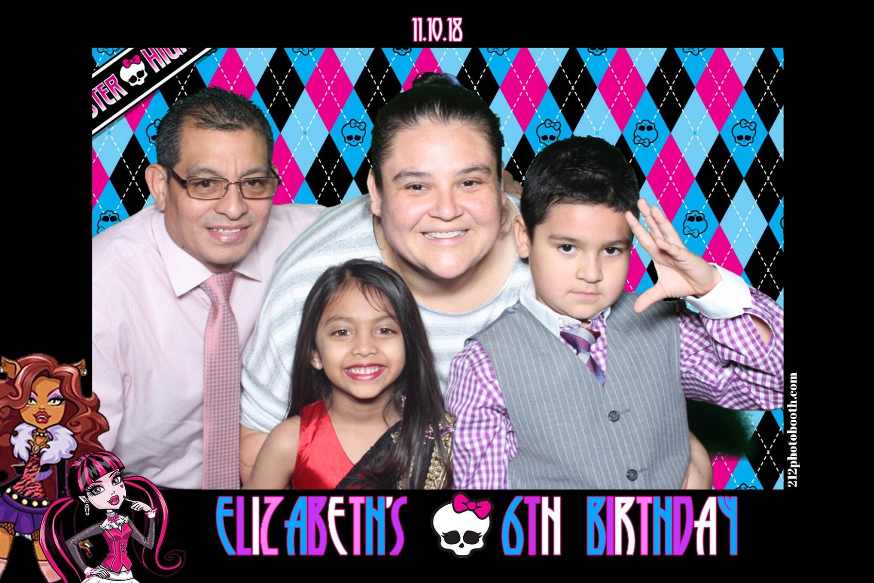 elisabeth birthday party photo